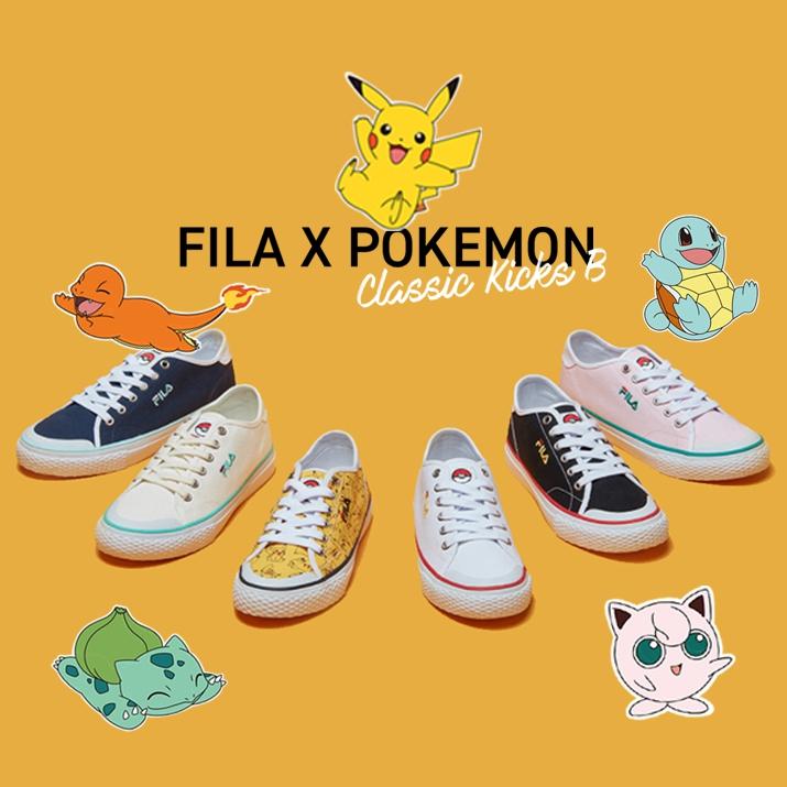 ของมันต้องมี! FILA Pokémon สนีกเกอร์..ที่สายคิ้วท์คู่ควร