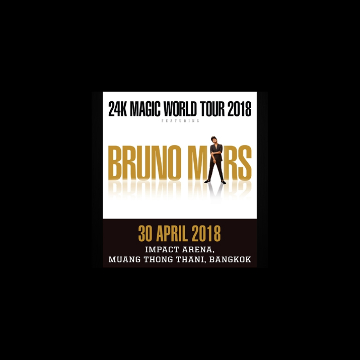 """BRUNO MARS"" BRINGING THE 24K MAGIC WORLD TOUR TO BANGKOK"