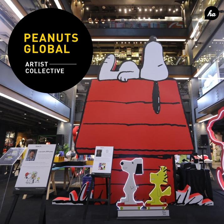 กองทัพ SNOOPY บุกกรุง! ที่งาน Peanuts Global Artist Collective